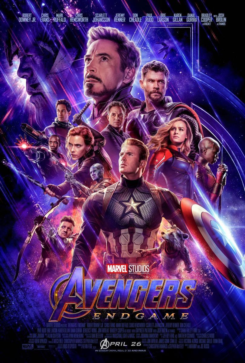 Avengers: Endgame 5 GB [2019][Español Latino][1080p][MEGA]