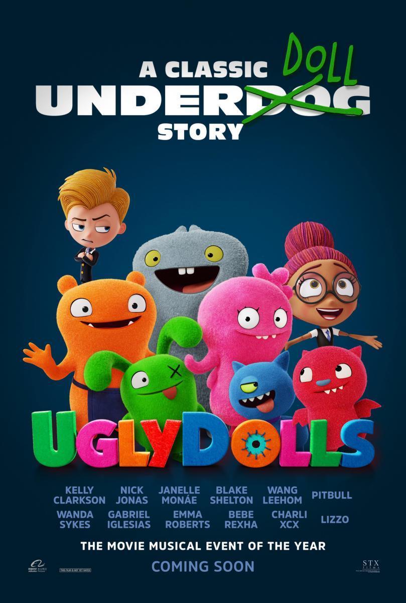 UglyDolls [2019][Español Latino][1080p][MEGA]