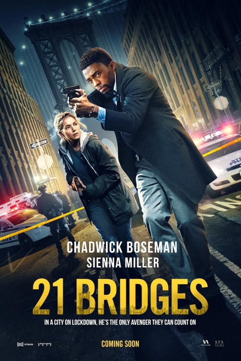 21 Bridges [2019][Latino][1080p][Google Drive]